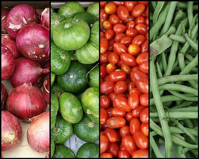 Frutas y verduras que nos mantienen sanos y fuertes