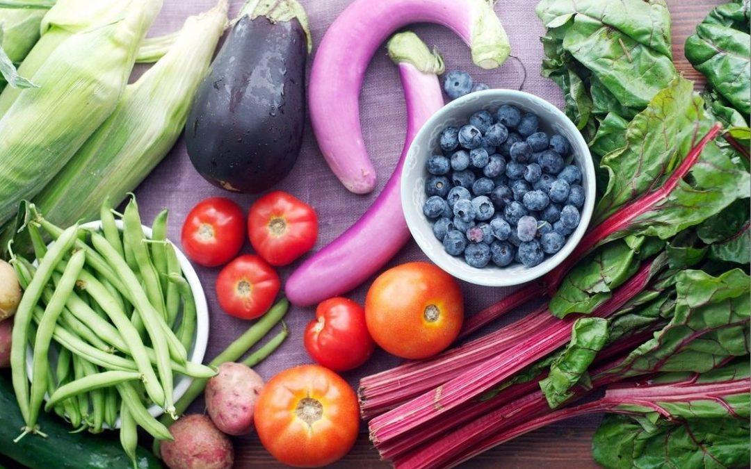 Frutas y verduras, siete al día