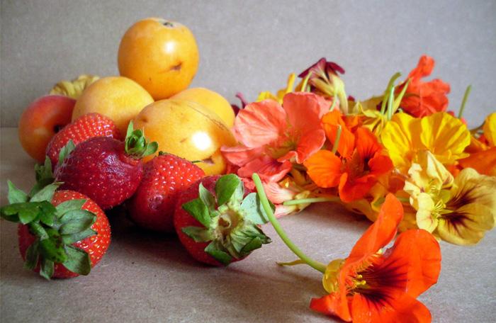Frutas de la primavera
