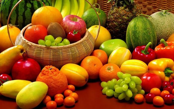 Frutas de temporada de invierno