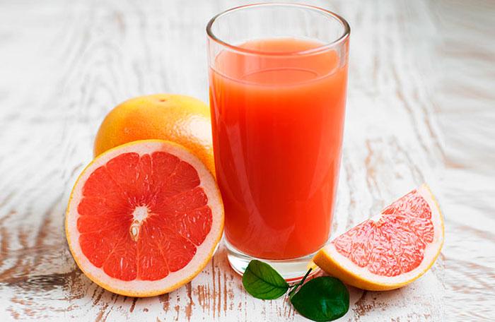 El zumo de pomelo, una receta deliciosa y saludable