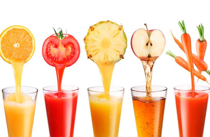 Zumos de fruta: una bebida llena de vida