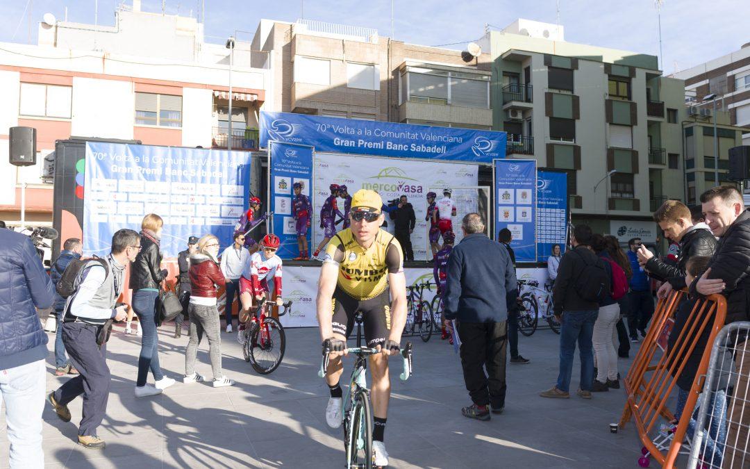 Mercovasa colaborador de la vuelta ciclista a la Comunidad Valenciana 2019