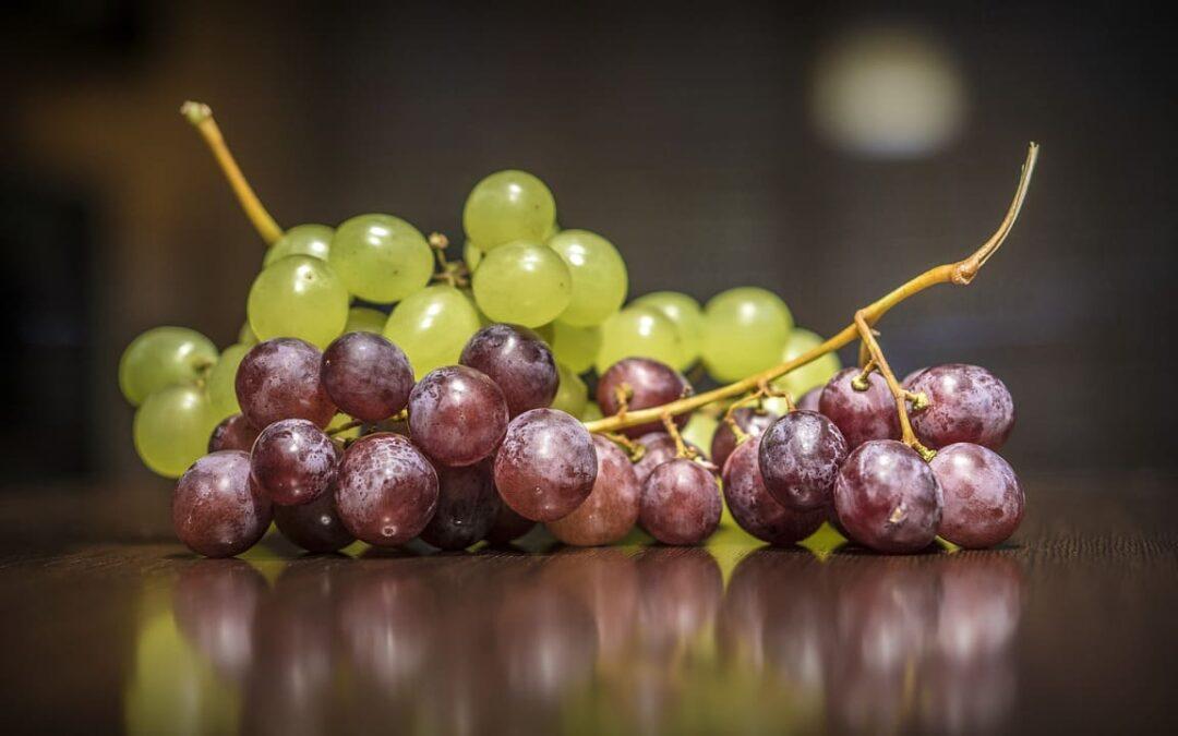 Uva, fruta por excelencia de la Nochevieja